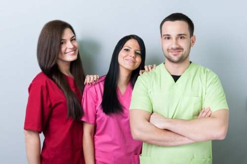 A group of medical team